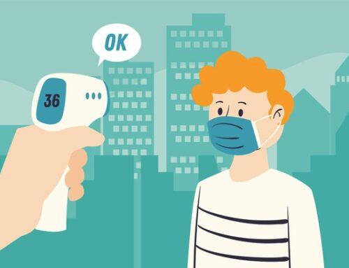 Misura la tempera corporea con il termometro digitale